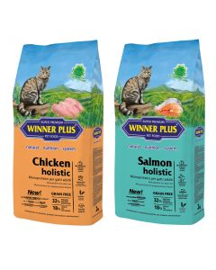 WINNER PLUS Holistic Cat 2 x 2kg Sparpaket