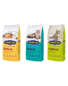 WINNER PLUS SUPER PREMIUM Cat Classic 3 x 2kg Sparpaket