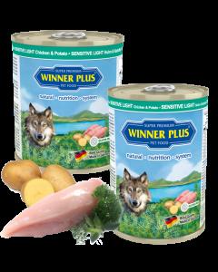 WP SUPER PREMIUM MENUE SENSITIV LIGHT Huhn & Kartoffel