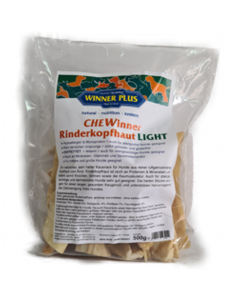 WINNER PLUS Rinderkopfhaut LIGHT CHEWinner 500 g