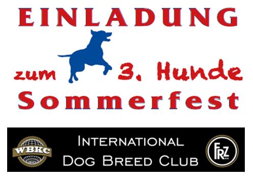 3.Hunde-Sommerfest