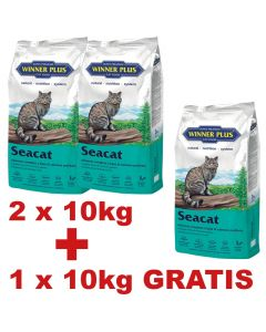 WINNER PLUS SUPER PREMIUM Seacat 10 kg 2 + 1 Sack GRATIS