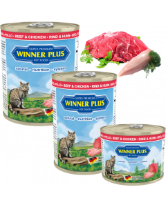 WP SUPER PREMIUM MENUE CAT Rind & Huhn