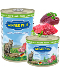 WP SUPER PREMIUM MENUE CAT Rind & Lamm