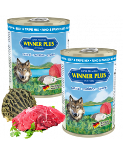 WP SUPER PREMIUM MENUE PUR Rind & Pansen Mix