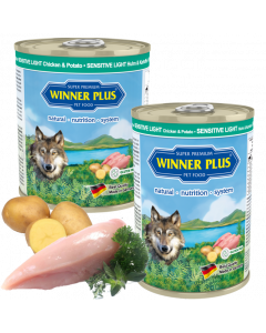 WP SUPER PREMIUM MENUE SENSITIV LIGHT Huhn & Kartoffel